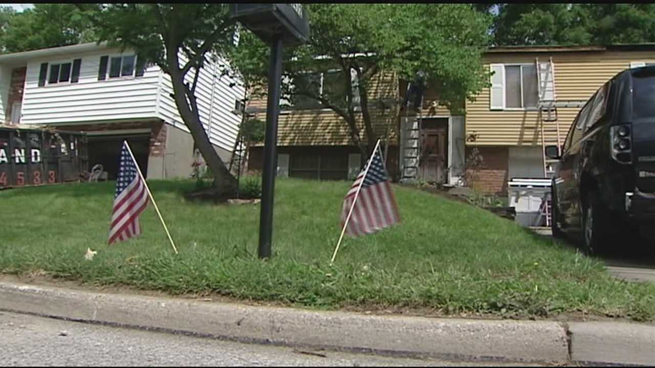 Community comes together to fix Army veteran's home