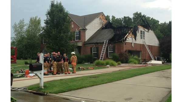 Clermont County house fire 08022014.jpg