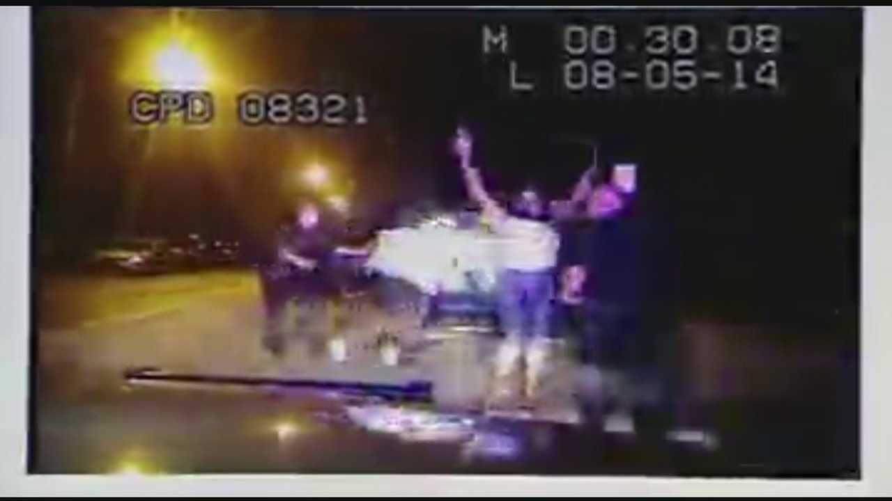 Watch: Traffic stop ends with struggle, shooting