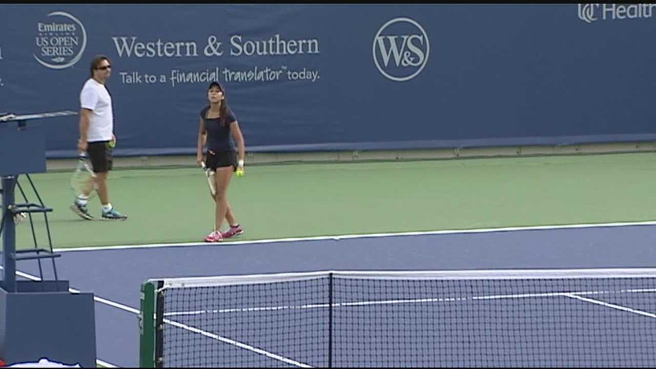 Finishing touches put on Lindner Family Tennis Center ahead of tournament