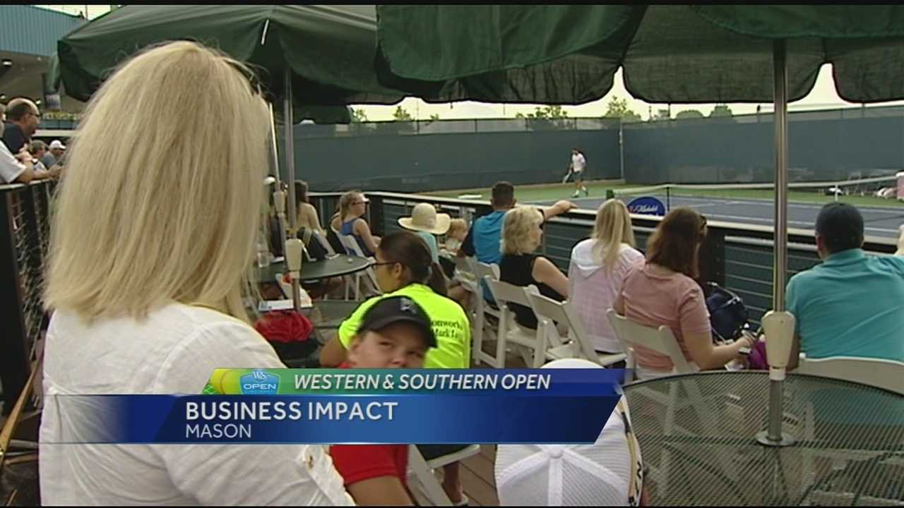 Fans bring millions in spending dollars to tennis tournament