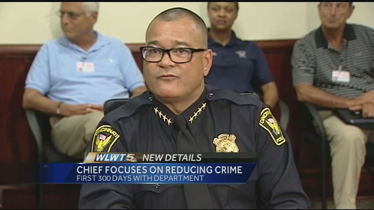 On Wednesday he held a news conference to share some of his accomplishments and the challenges still facing the department.
