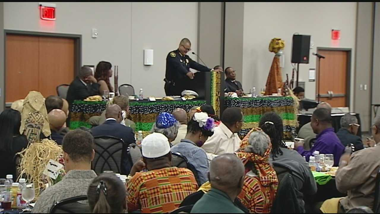 Participants gather to kick off Black Family Reunion weekend