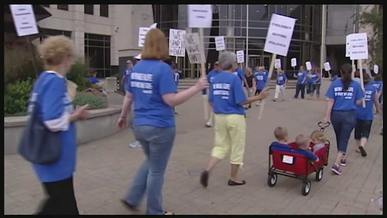 Social workers started their strike Monday. The strike comes after unsuccessful negotiations between the children services union and Butler County over a wage increase. Union workers said they had originally asked for a three and a half percent pay increase and for the county to reinstate step increases that were frozen two years ago.