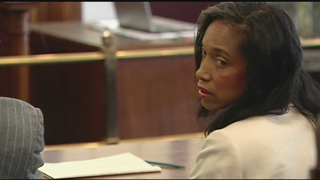 img-Juvenile court Judge Tracie Hunter back in front of judge Tuesday