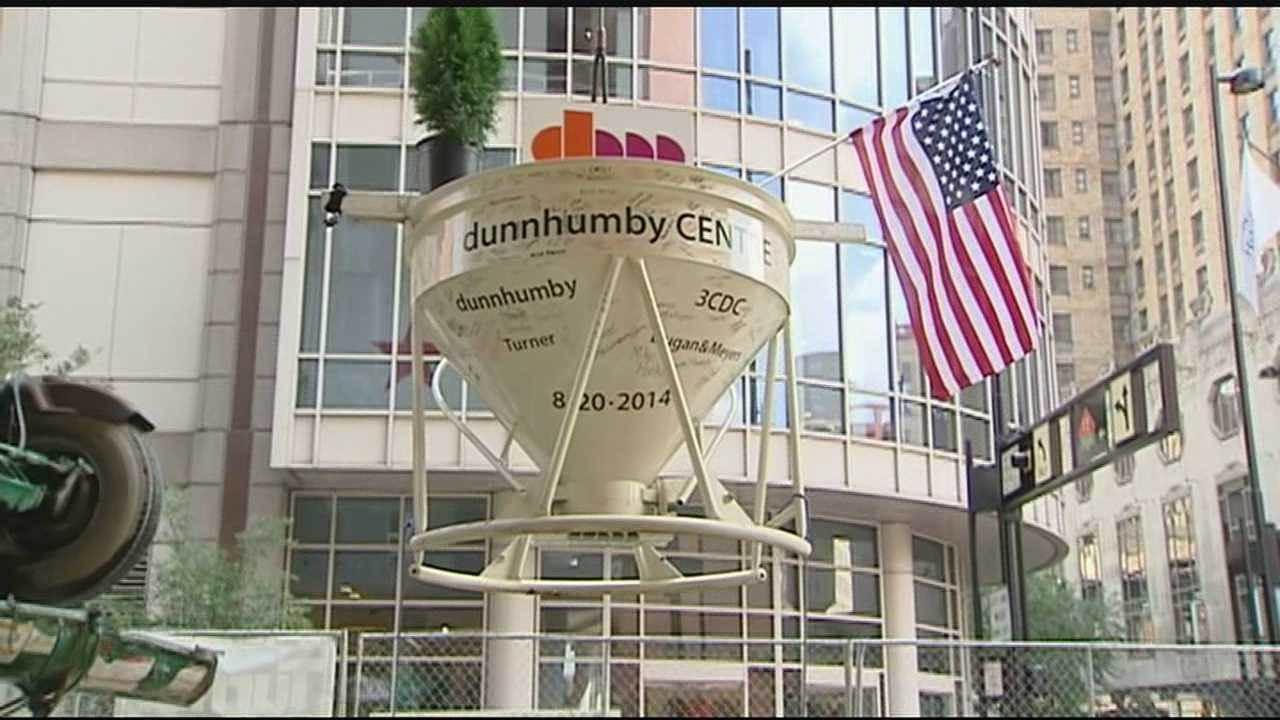 Crews pour final portion of new dunnhumby headquarters