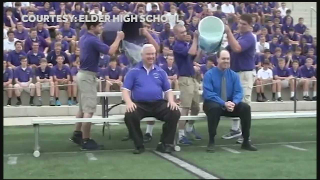 Tri-State catholic school takes part in ice bucket challenge