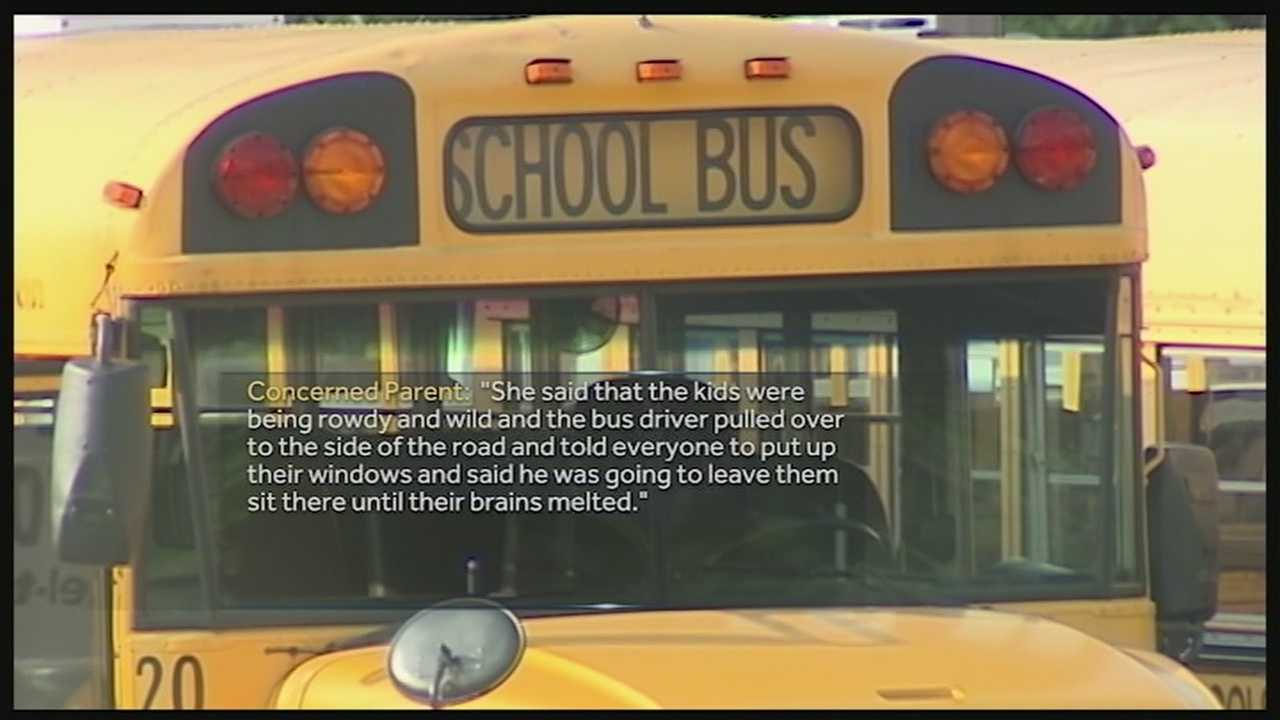 Police seek more info after students allegedly made to sit on hot bus