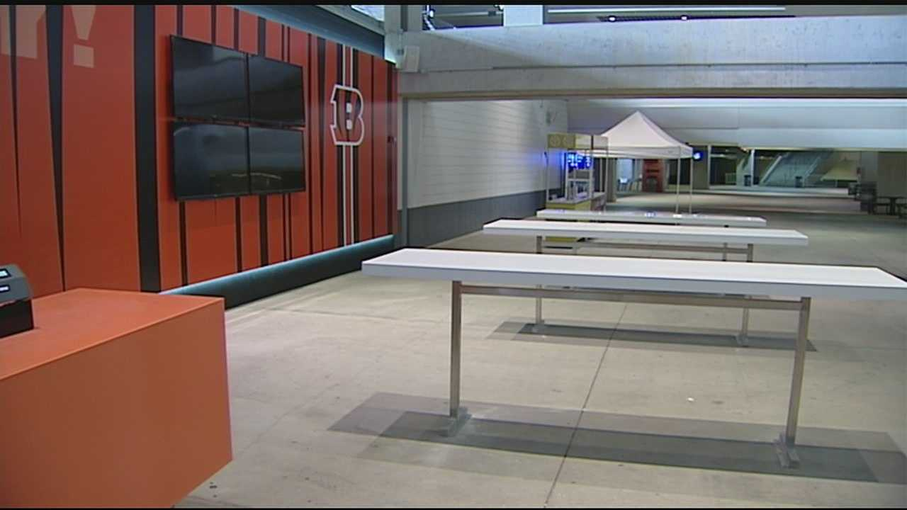 WLWT News 5's got a behind-the-scenes look at what Bengals fans will find inside the stadium this season.