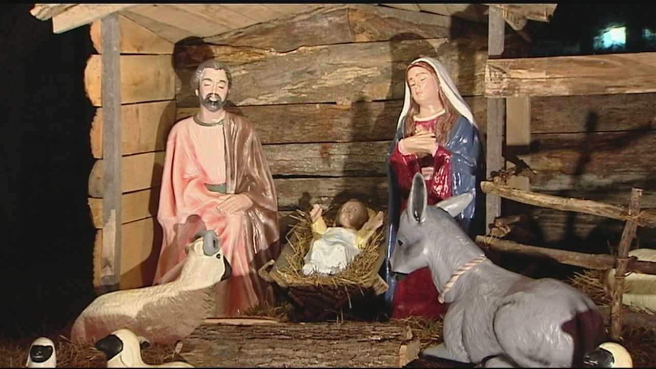img-Organization says 50-year-old Nativity infringes on separation of church state
