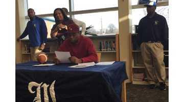 Lajai Williams, football - Central State University