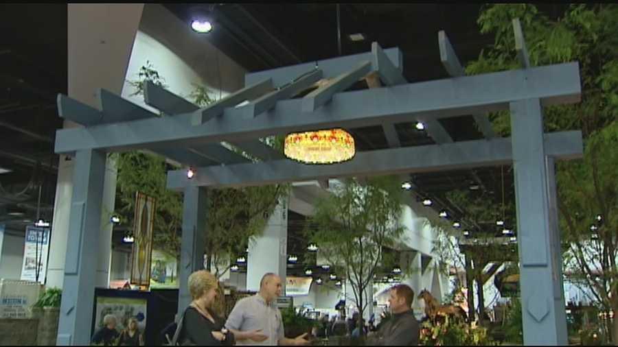Duke Energy Convention Center Hosts Annual Home Garden Show