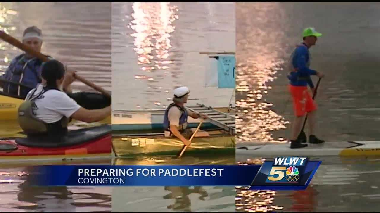 Ohio River fans warm up for Paddlefest