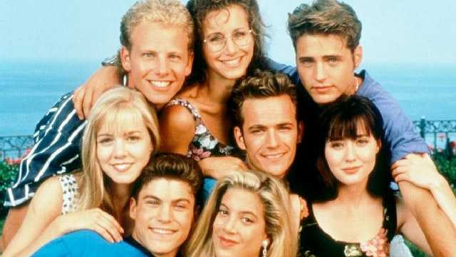 Beverly Hills 90210 WATN - intro slide