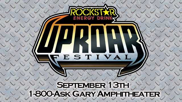 RockStar Energy Drink FG UpRoar Concert