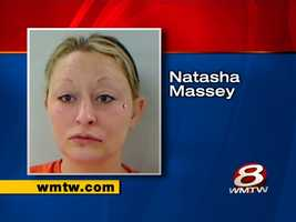 Natasha Massey is charged with assaulting an officer after officials said she broke a sheriff's deputy's nose.