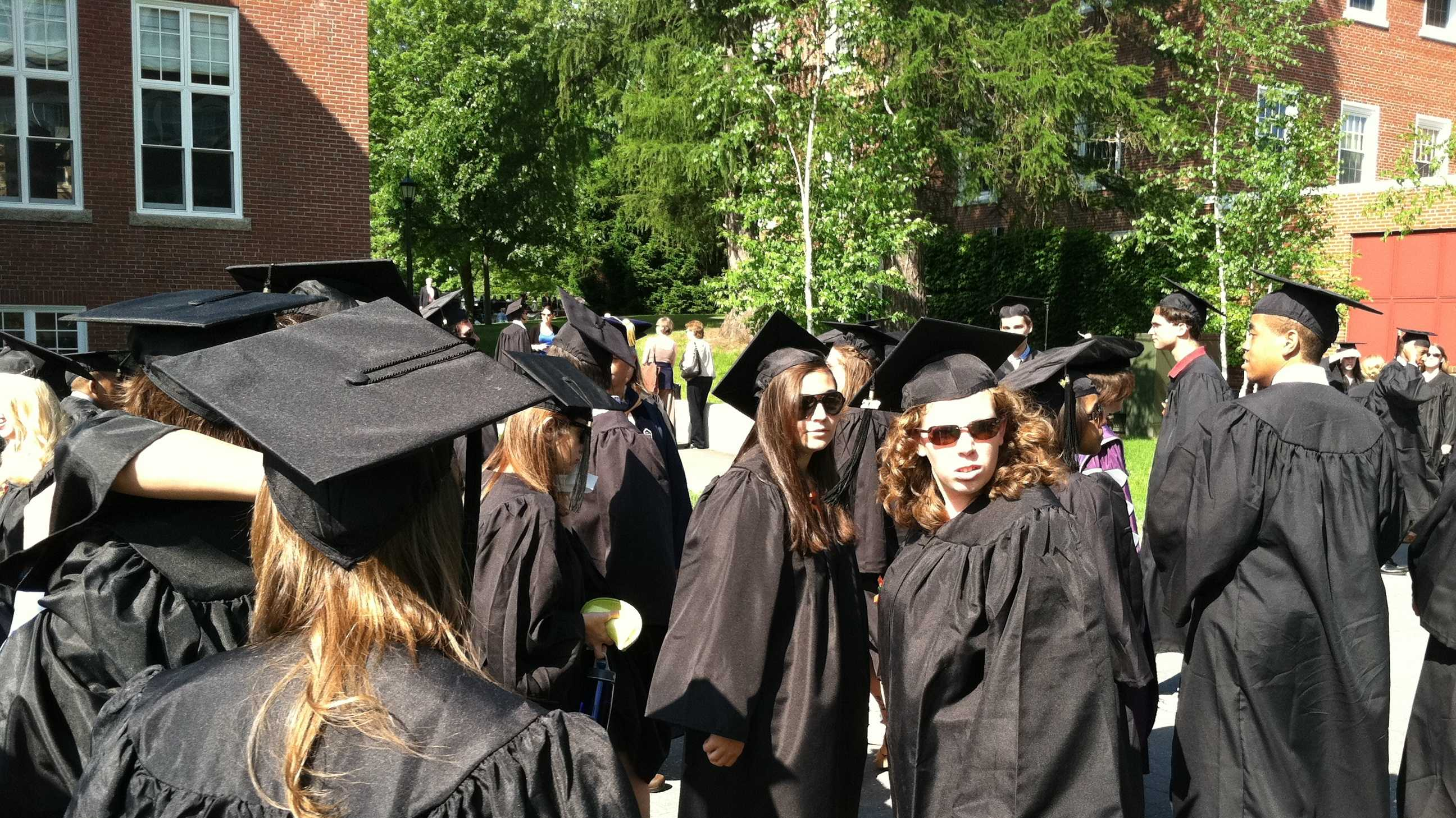 Bates College held its 146th commencement