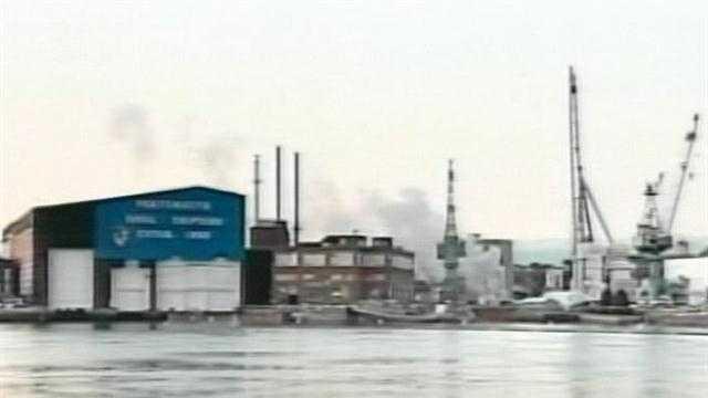 PORT USS Miami Arson