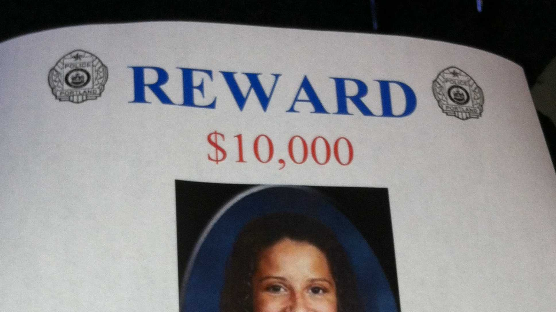 Darien Richardson Reward
