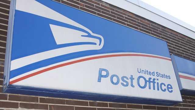 USPS sign, US Postal Service