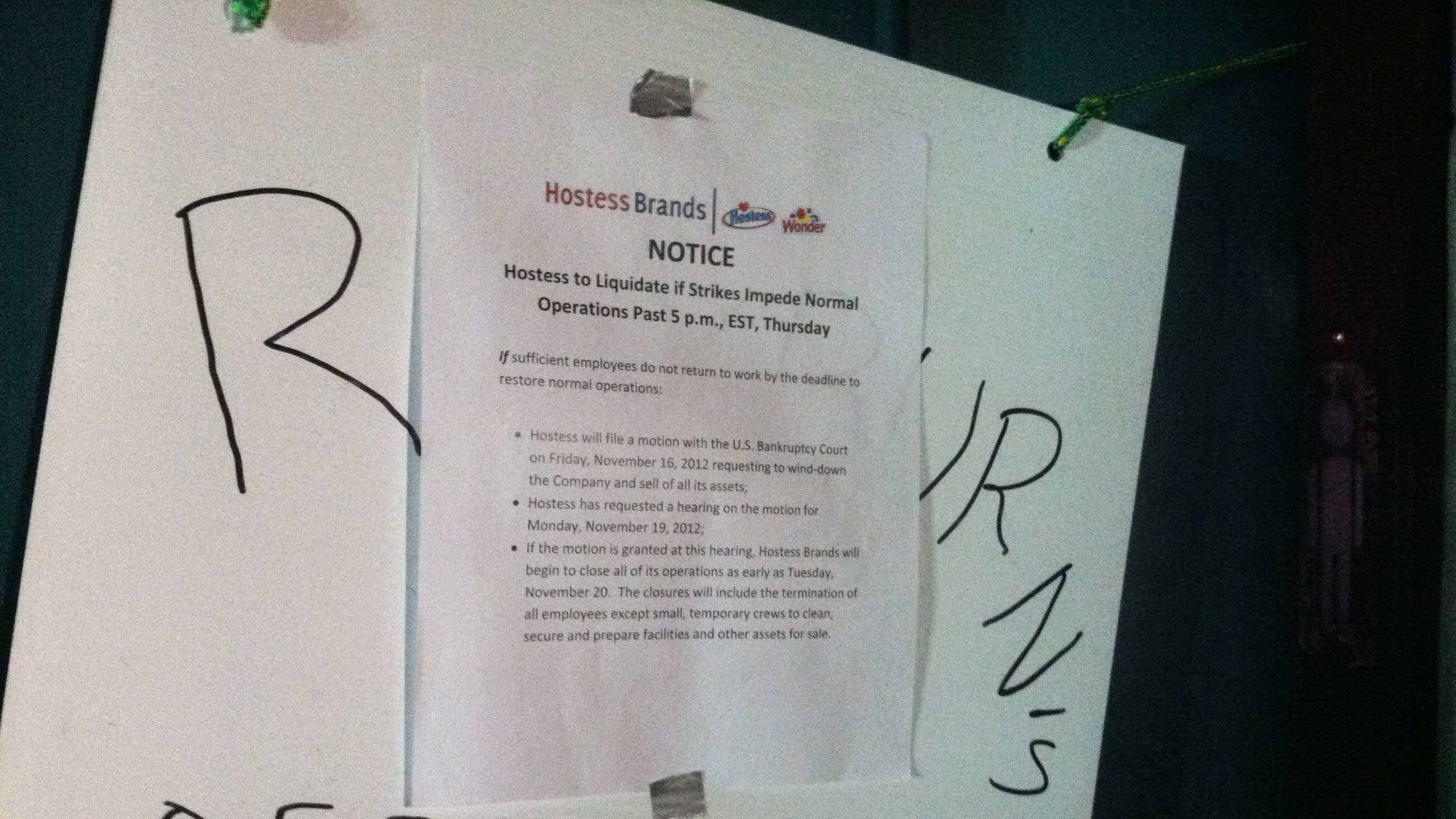 Strike Notice