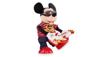 A Fisher Price Rock Star Mickey will cost $19.98.