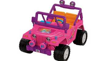 The toy store is boasting a 50% price cut to its Power Wheels Sport Quads.