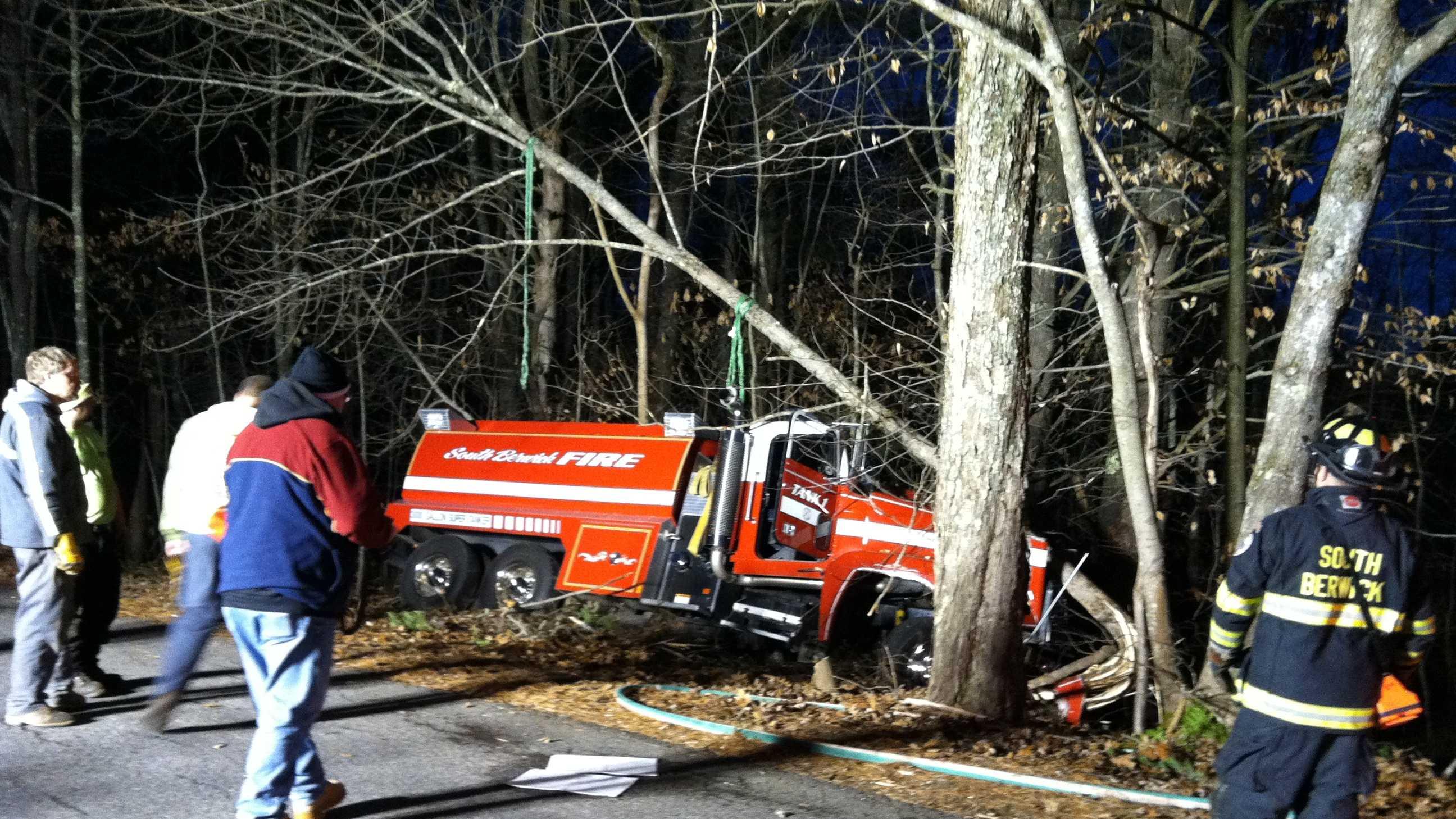 PORT South Berwick Fire Truck Crash