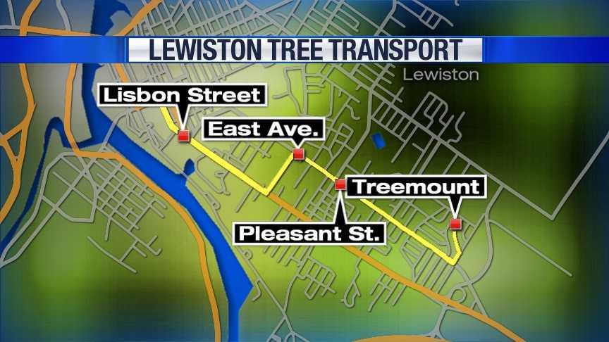 Lewiston To Install Annual Christmas Tree