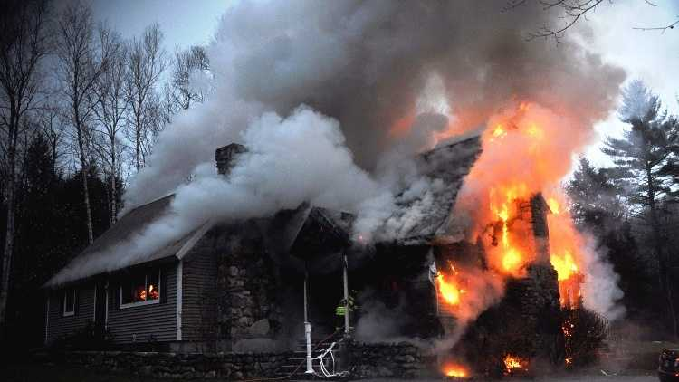 The fire was at 83 Cape Monday Road.