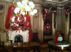 The Victoria Mansion is open for its only fundraiser of the year.