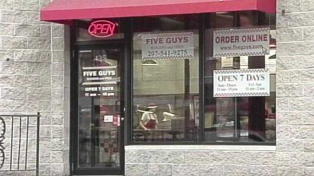 Five Guys, Portland