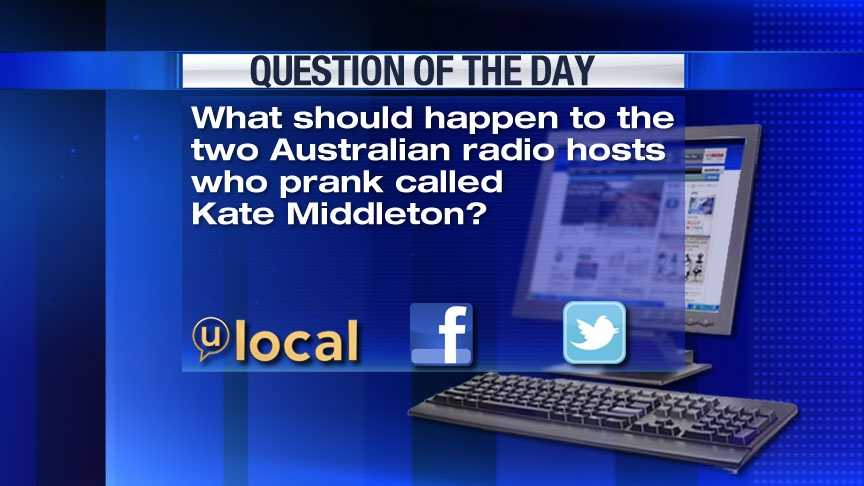 Question of the Day 12-10-12