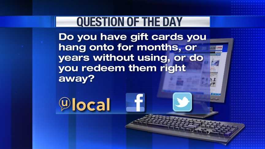 Question of the Day 12-28-12