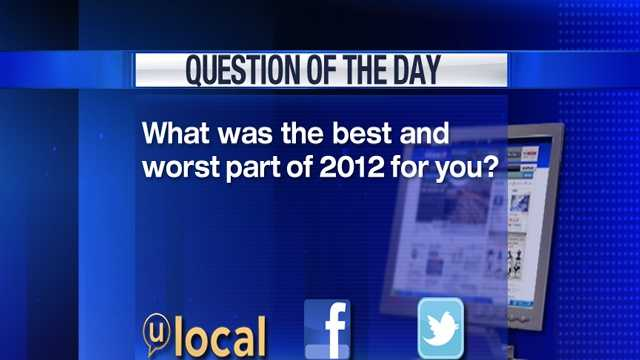 Question of the Day 12-31-12