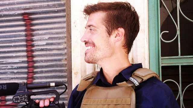 James Foley in Syria