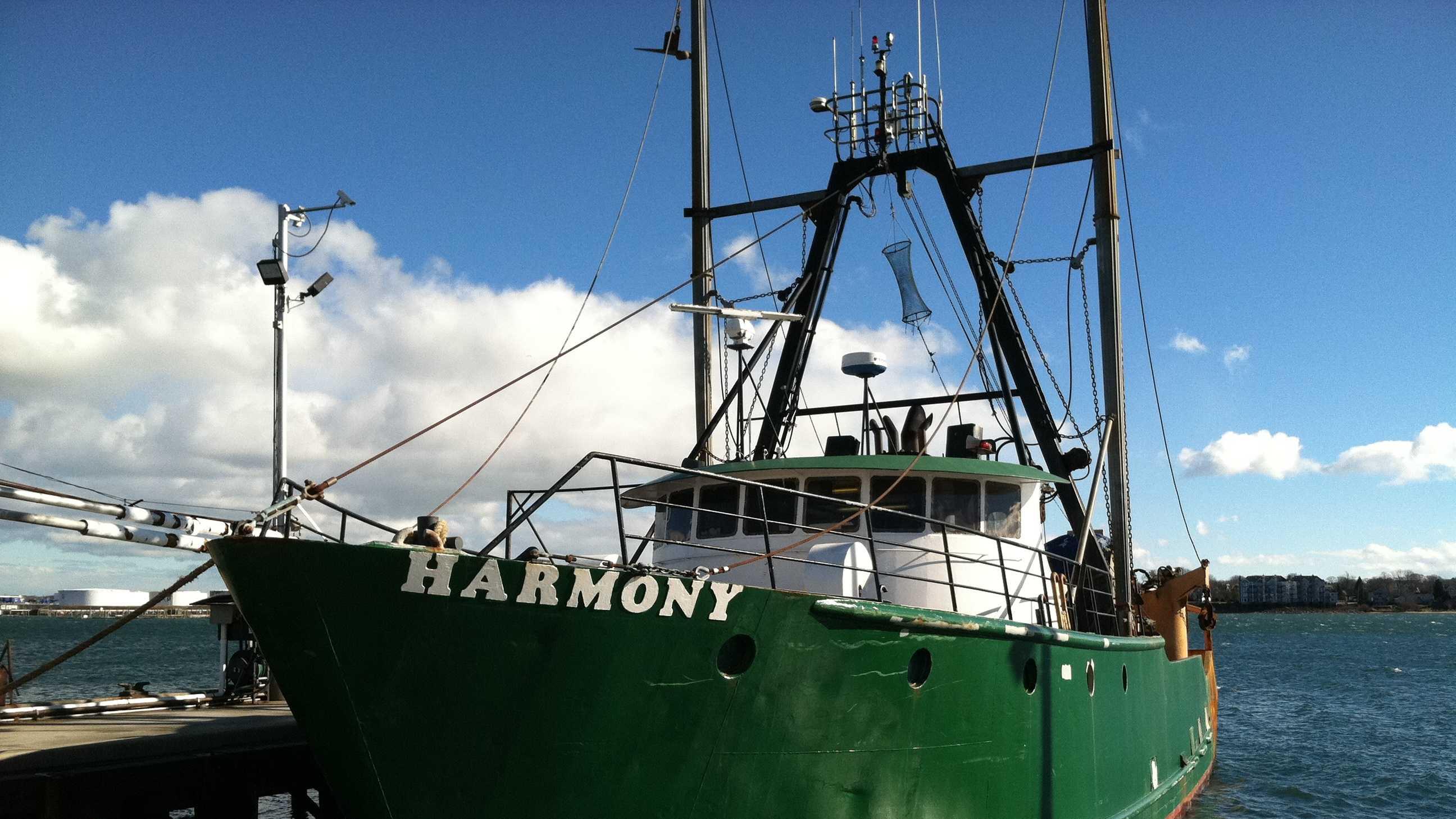 Groundfishing Boat