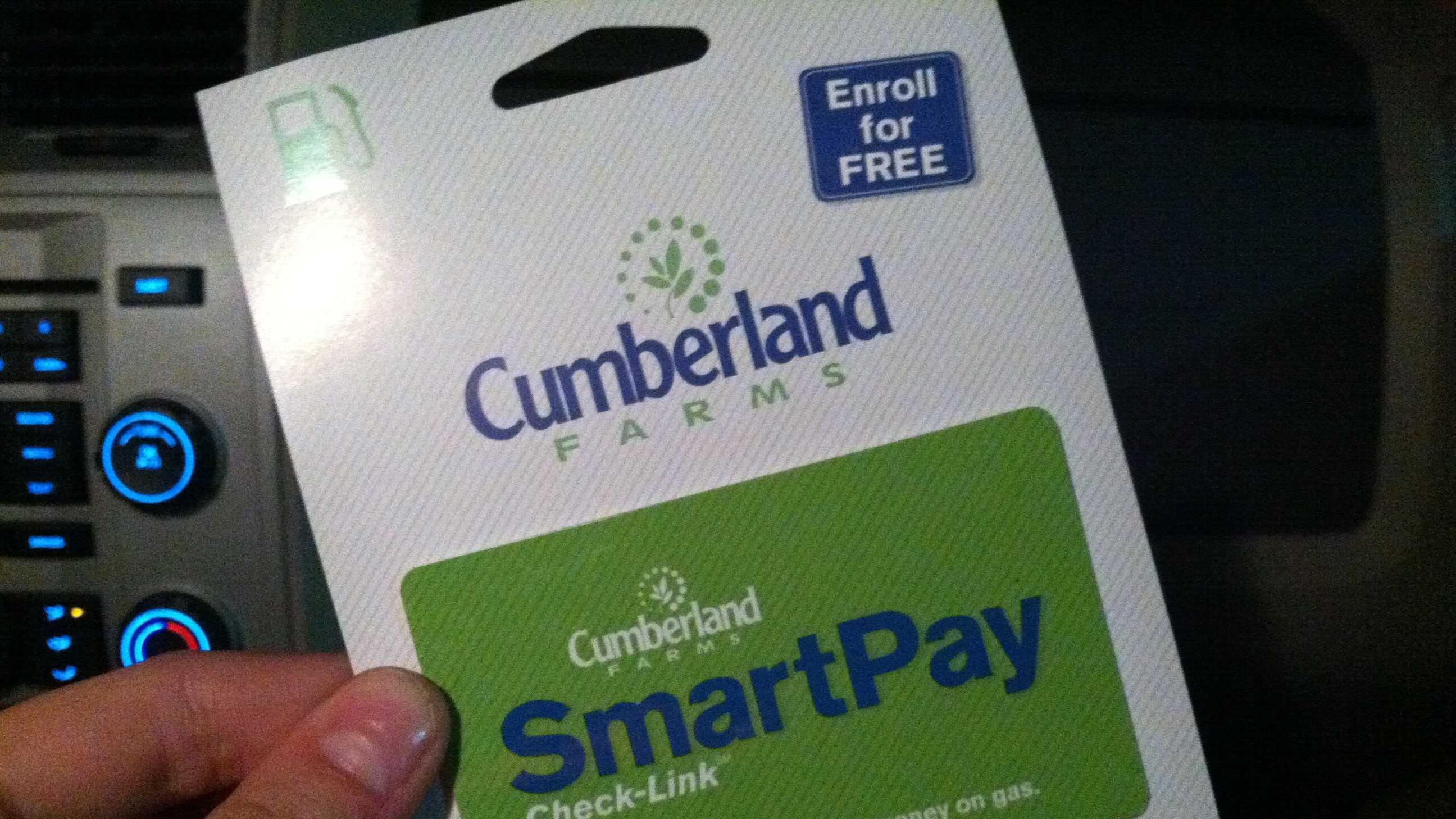Cumberland Farms card