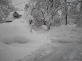 16: On January 30, 1909, 15.4 inches fell in Portland.