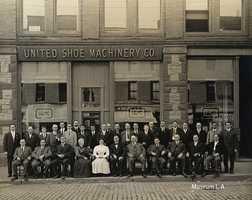 United Shoe Machinery in Auburn