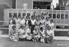 The women of Knapp Shoe in Lewiston