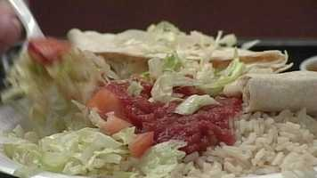News 8's Tracy Sabol has more on how to eat healthy when you go out to dinner. Click here for more information.