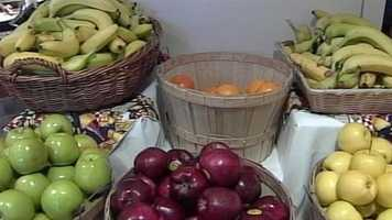 News 8's Tracy Sabol has more on how to get fruits and vegetables into your kid's diet. Click here for more information.