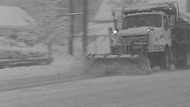Snow makes for dangerous driving conditions