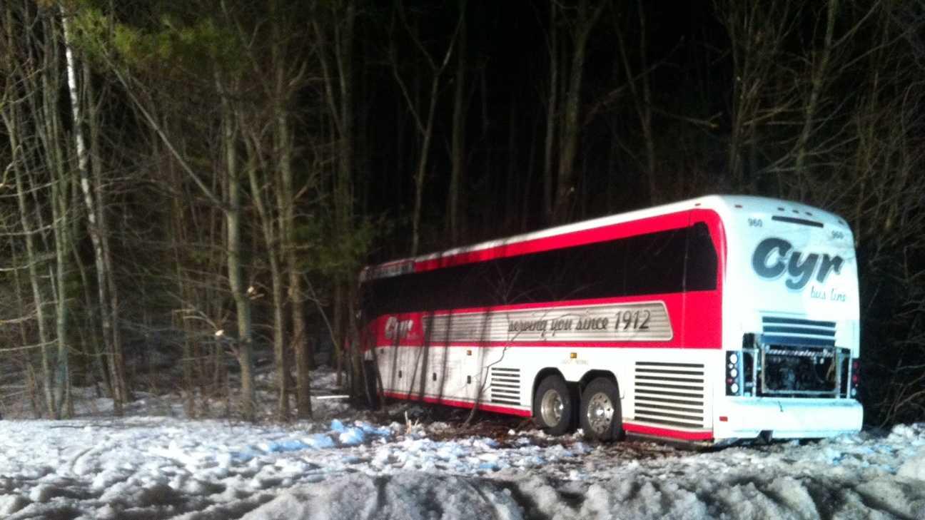 Mass. bus crash