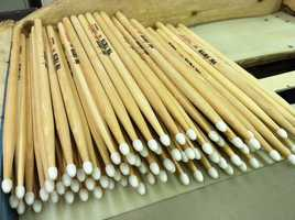 News 8's Steve Minich took a closer look at a Maine company known for making some of the best drumsticks in the world.