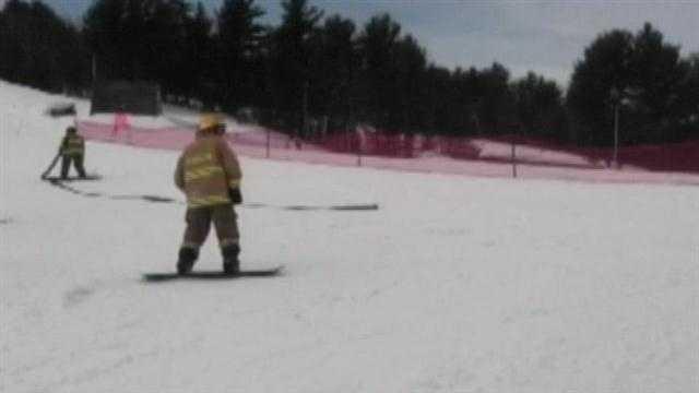 Firemen race for a cure at Shawnee Peak