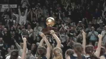 On Friday night Presque Isle defeated Lake Region for the Class B Girls' state title 51-44. Click here for highlights from both Class B title games.