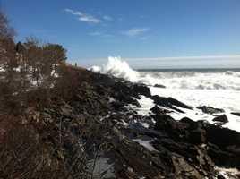 Waves at Cape Neddick
