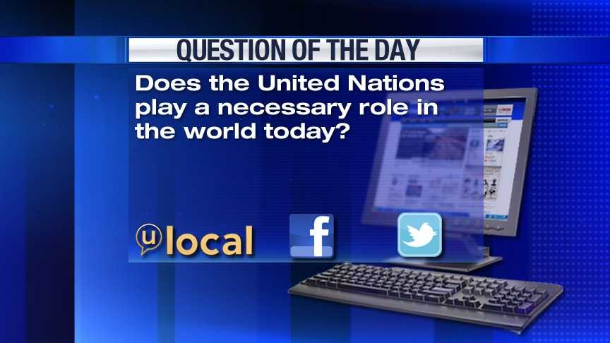 Question of the Day 3-29-13
